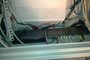 ADSL modem a switch